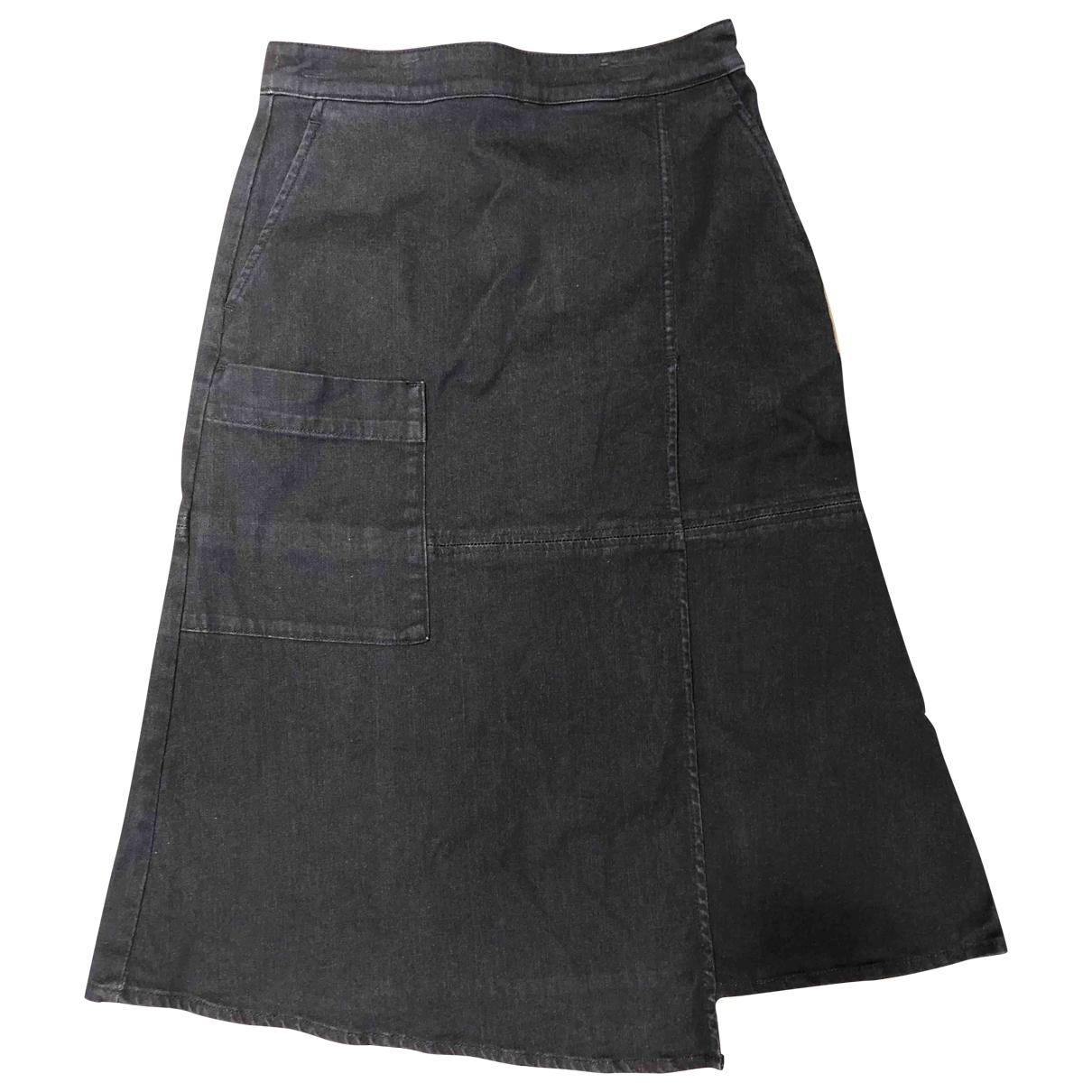 Tibi \N Blue Cotton skirt for Women 2 US