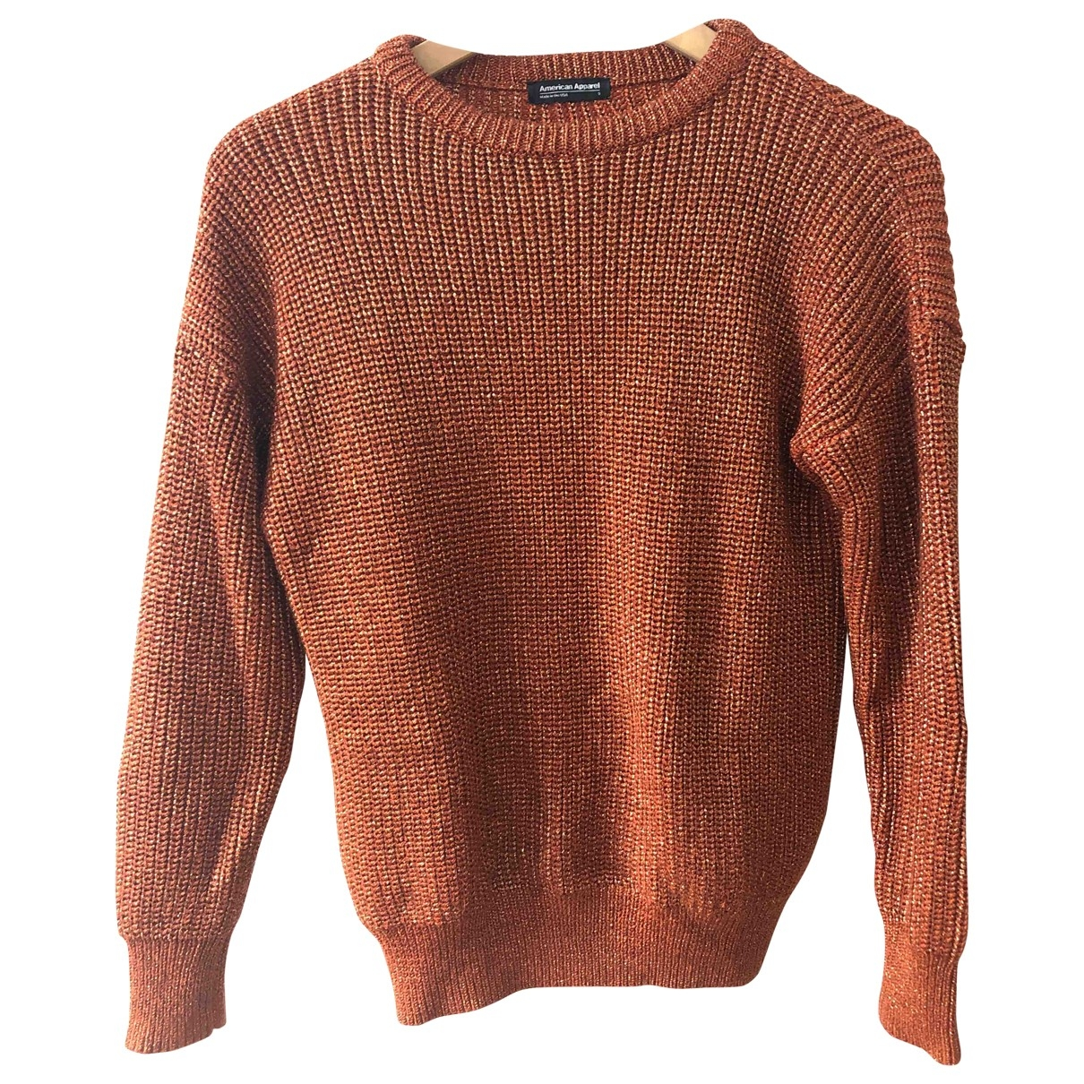 American Apparel - Pull   pour femme - dore