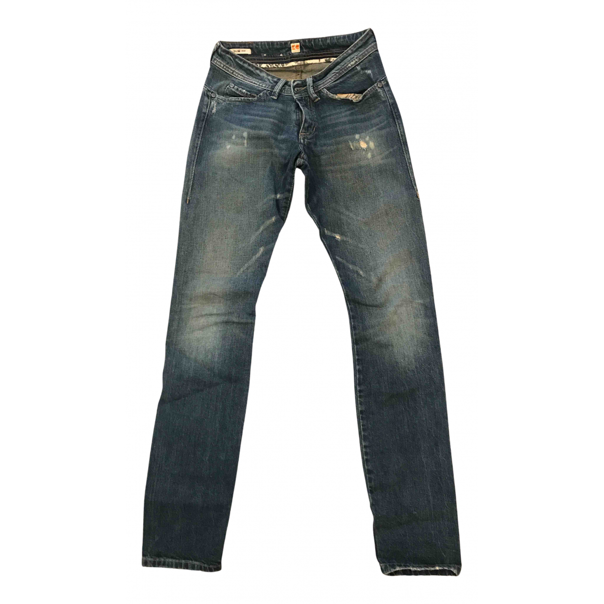 Boss Orange N Blue Cotton - elasthane Jeans for Women 26 US