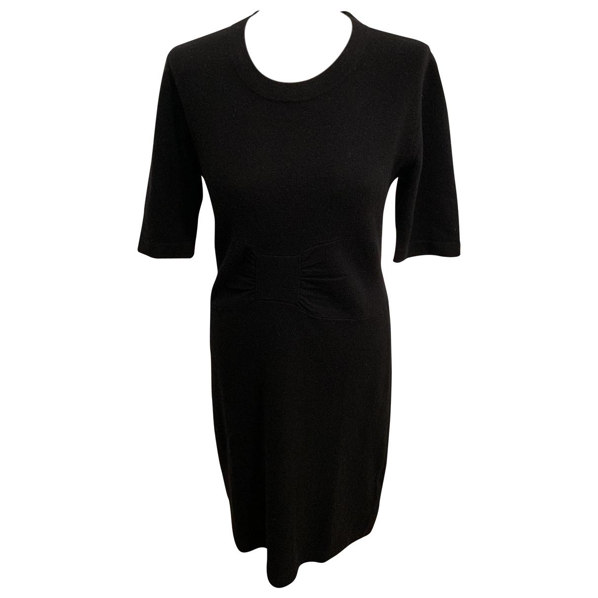 Allude - Robe   pour femme en cachemire - noir