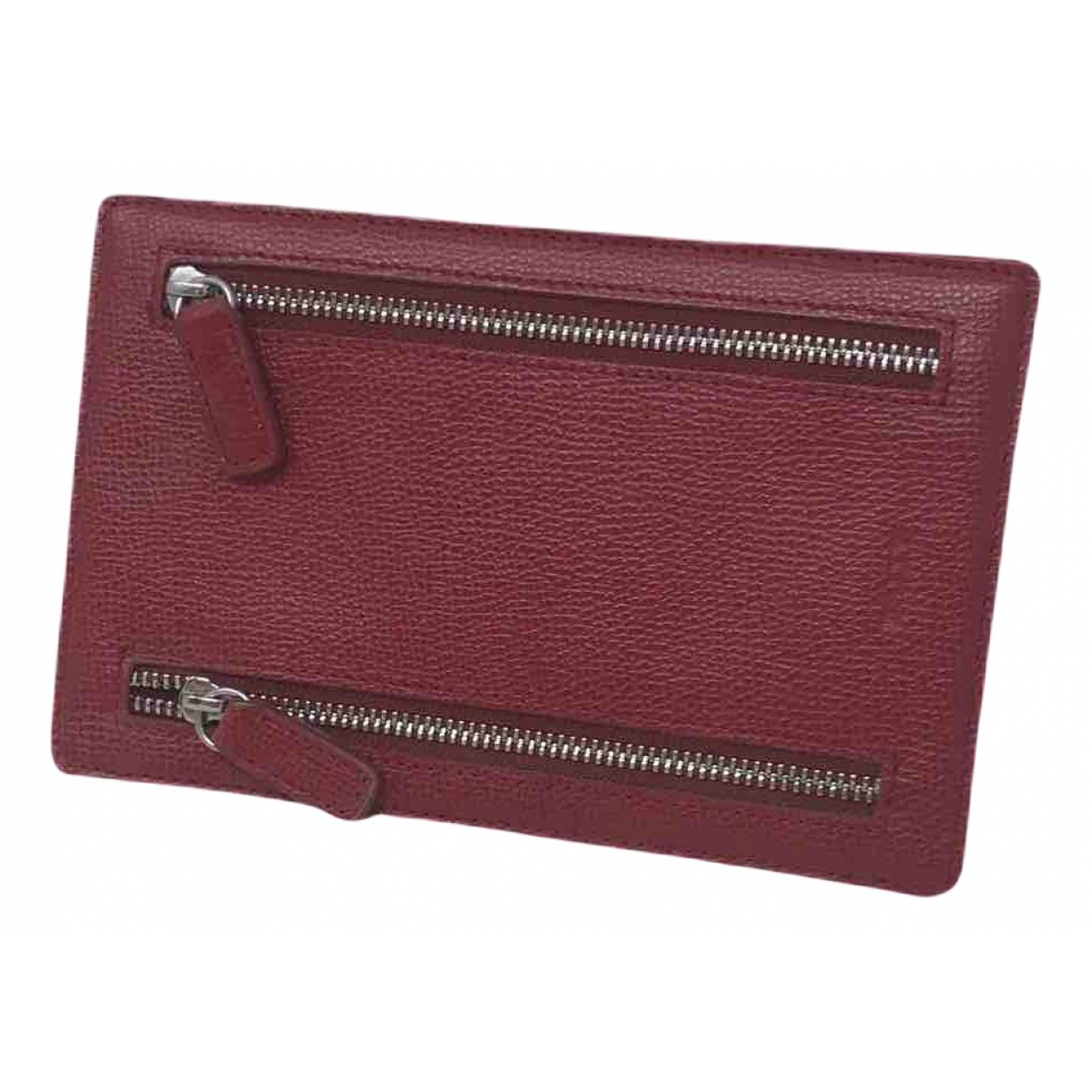 Bally \N Portemonnaie in  Rot Leder