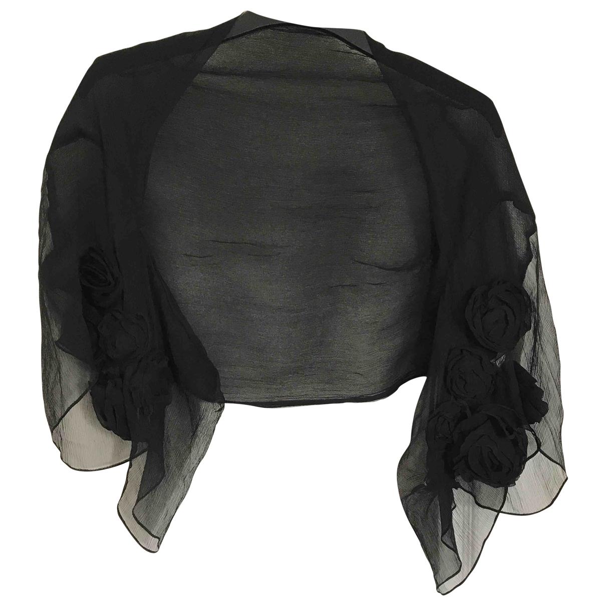 Roberto Cavalli \N Black Silk  top for Women One Size FR
