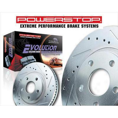 Power Stop Z23 Evolution Sport Performance 1-Click Front Brake Kit - K2137