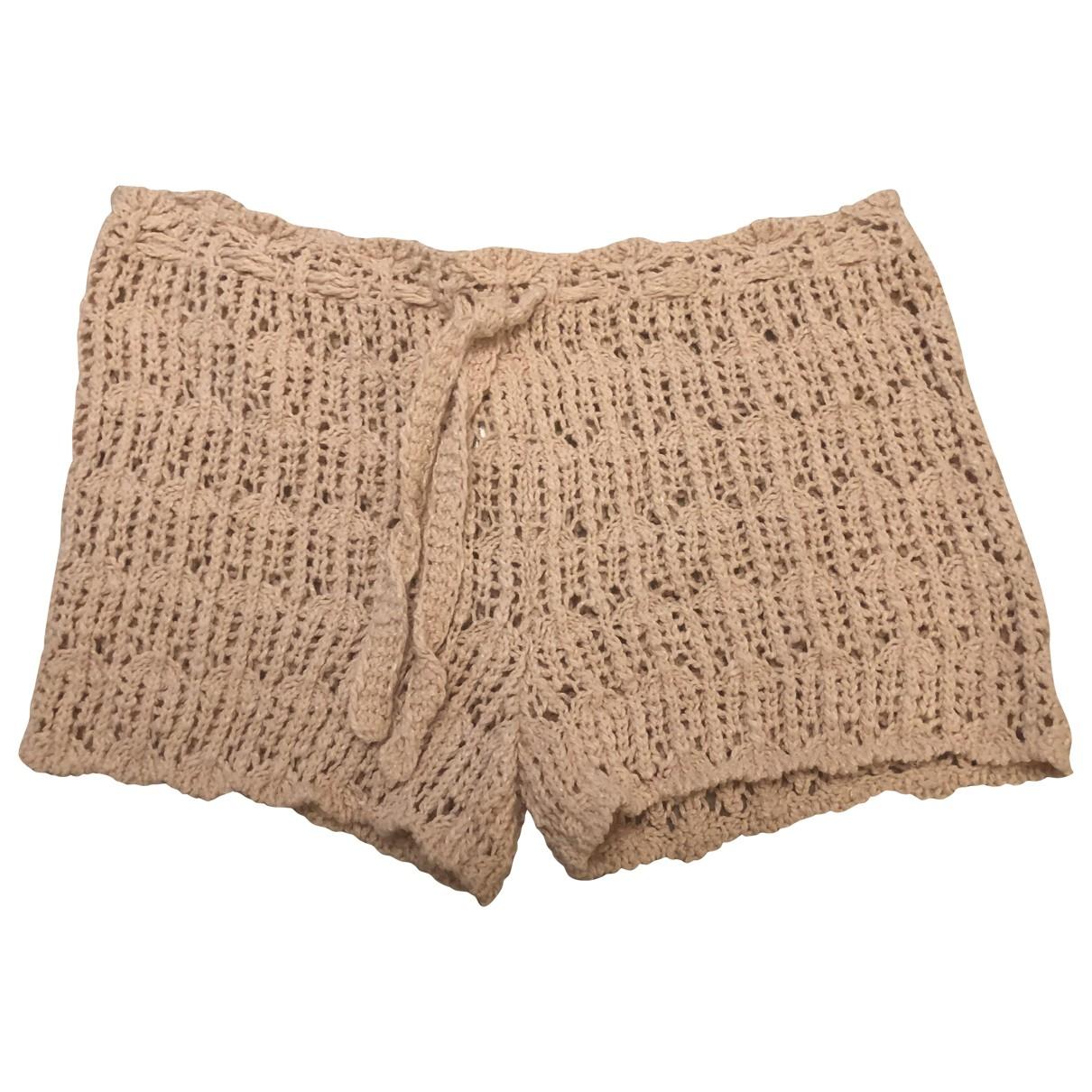 Masscob \N Shorts in  Rosa Baumwolle