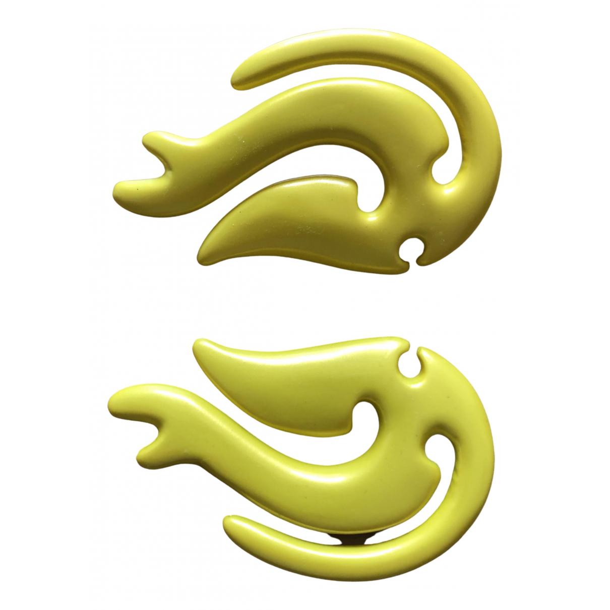 Y/project - Boucles doreilles   pour femme - jaune