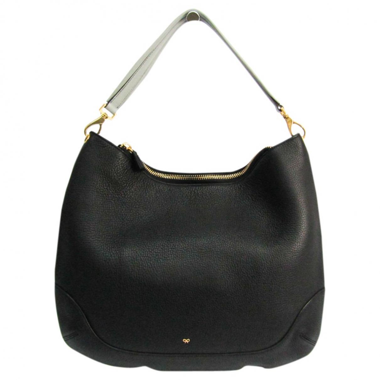 Anya Hindmarch N Black Leather handbag for Women N