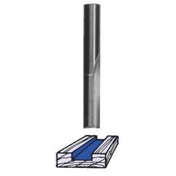 SC02 Straight Router Bit Single Flute 1/8