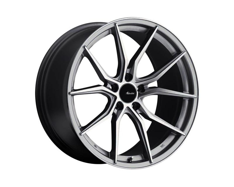 Advanti Racing Hybris Wheel 19x8.5 5x1120 35 SLMCXX Machine Face Silver