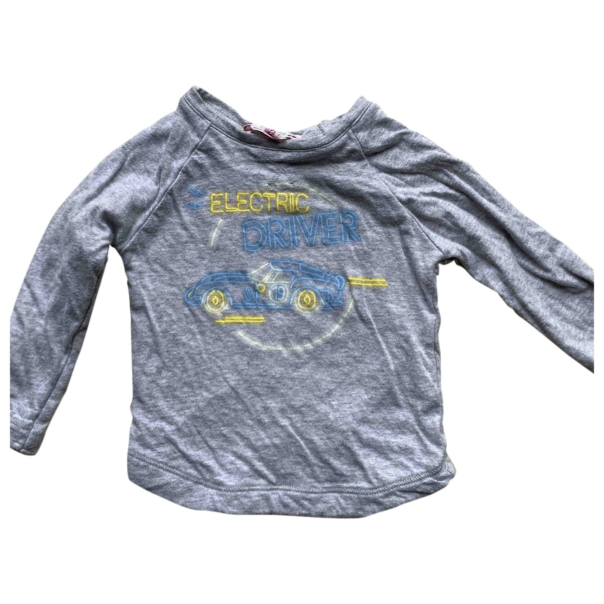 Bonpoint \N Grey Cotton  top for Kids 12 months - up to 74cm FR