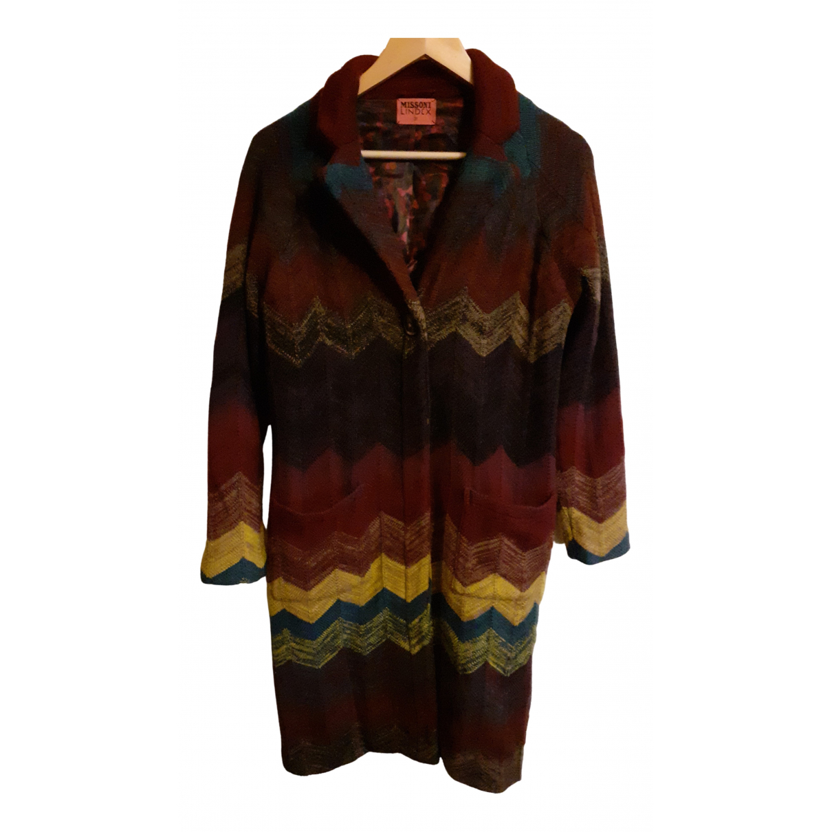 Missoni N Multicolour Wool coat for Women 38 FR