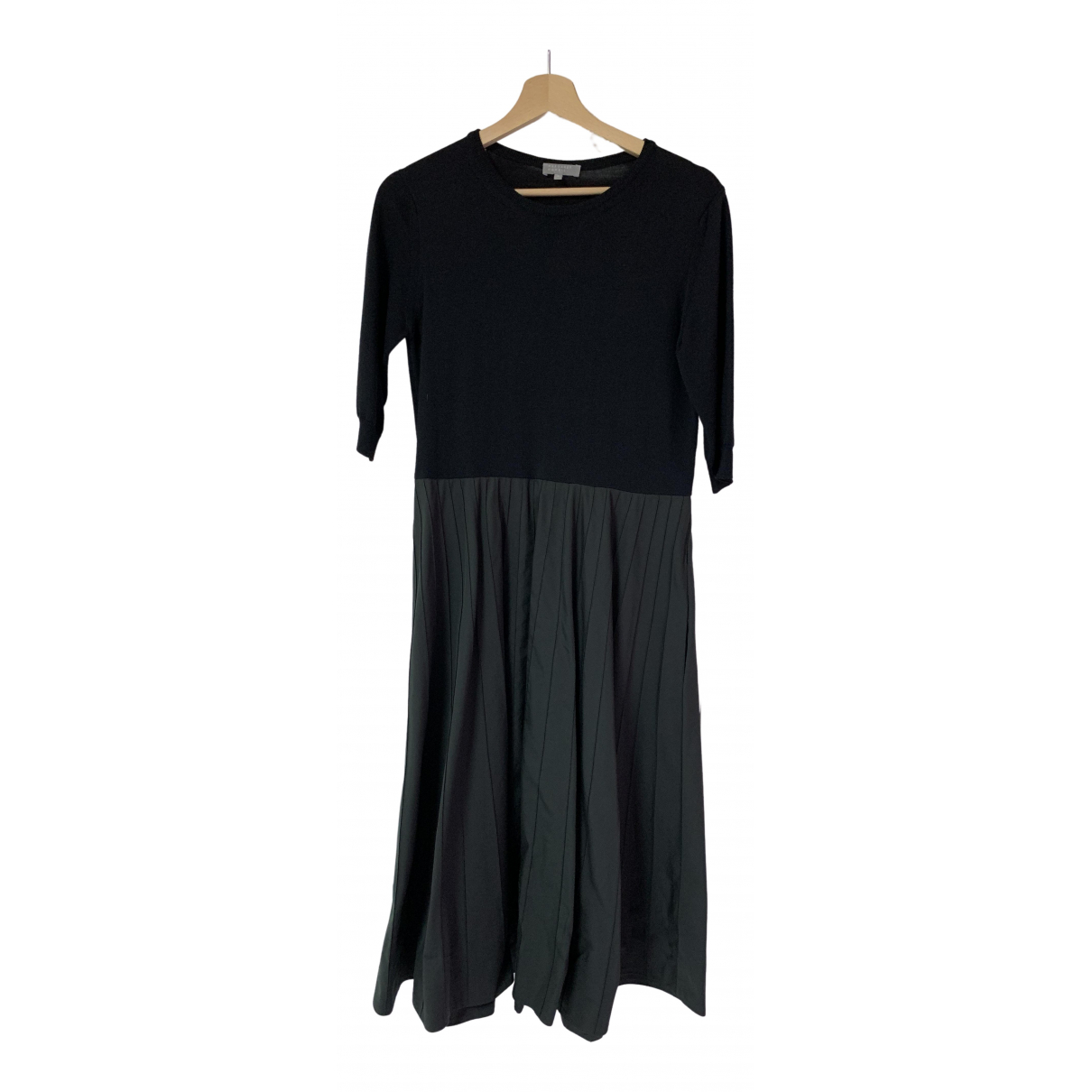 Margaret Howell - Robe   pour femme en soie - noir