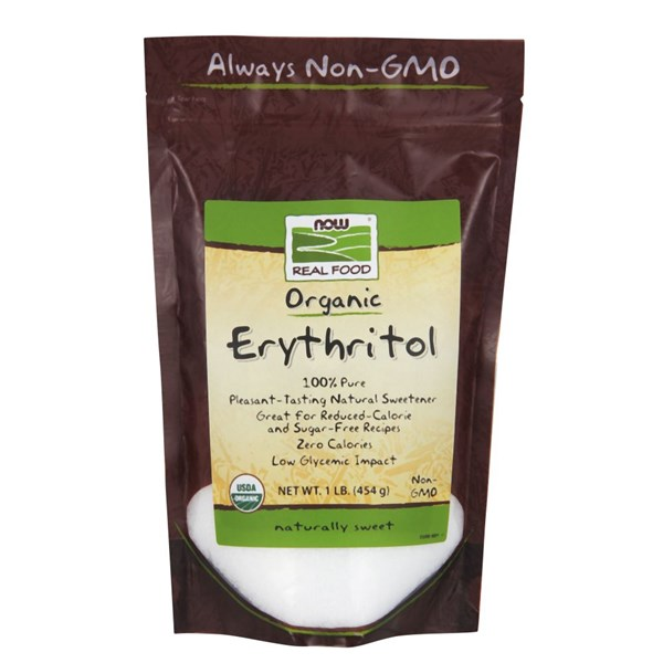 Organic Erythritol 1 lbs by Now Foods