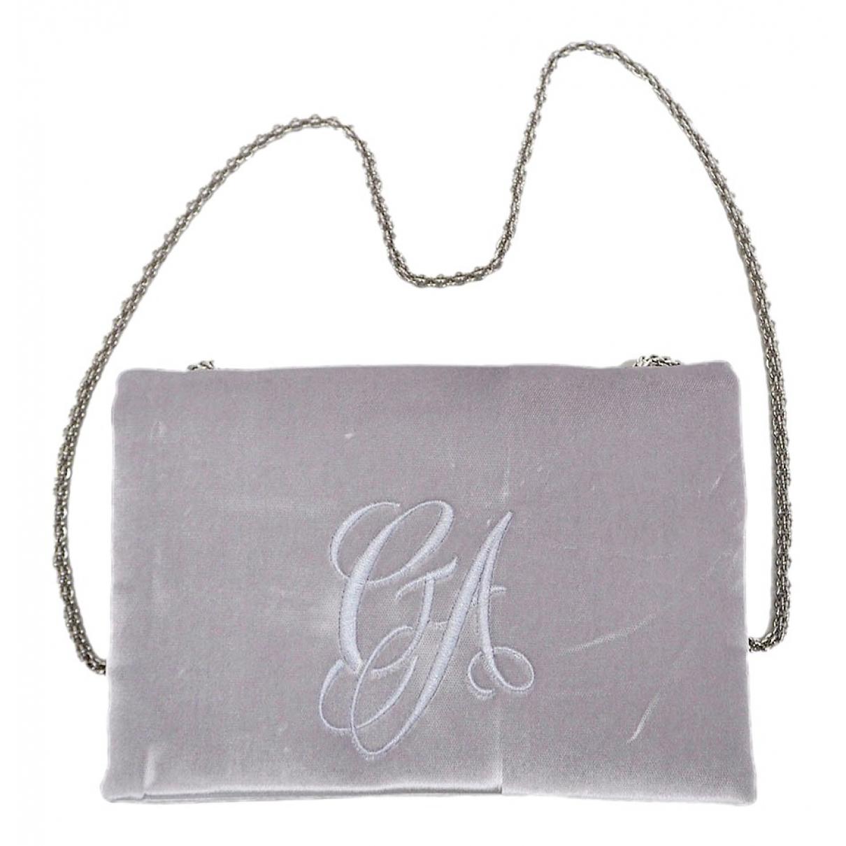 Giorgio Armani \N Grey Velvet handbag for Women \N