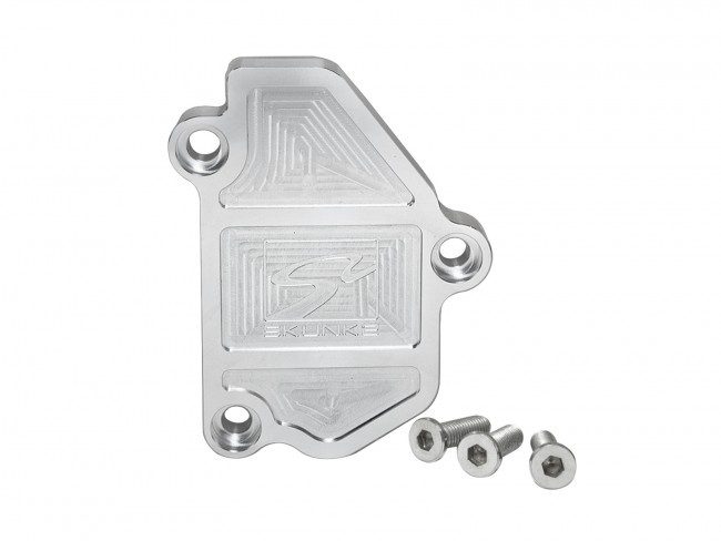 Skunk2 639-05-0600 Clear Anodized B Series VTEC Block-Off Plate Honda | Acura 86-01