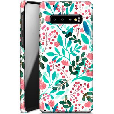 Samsung Galaxy S10 Plus Smartphone Huelle - Bright Foliage  von Iisa Monttinen