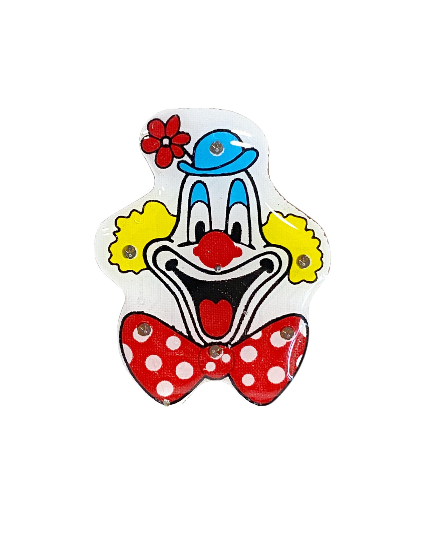 Kostuemzubehor Blinky Deiters Clown Farbe: multicolor bzw. bunt