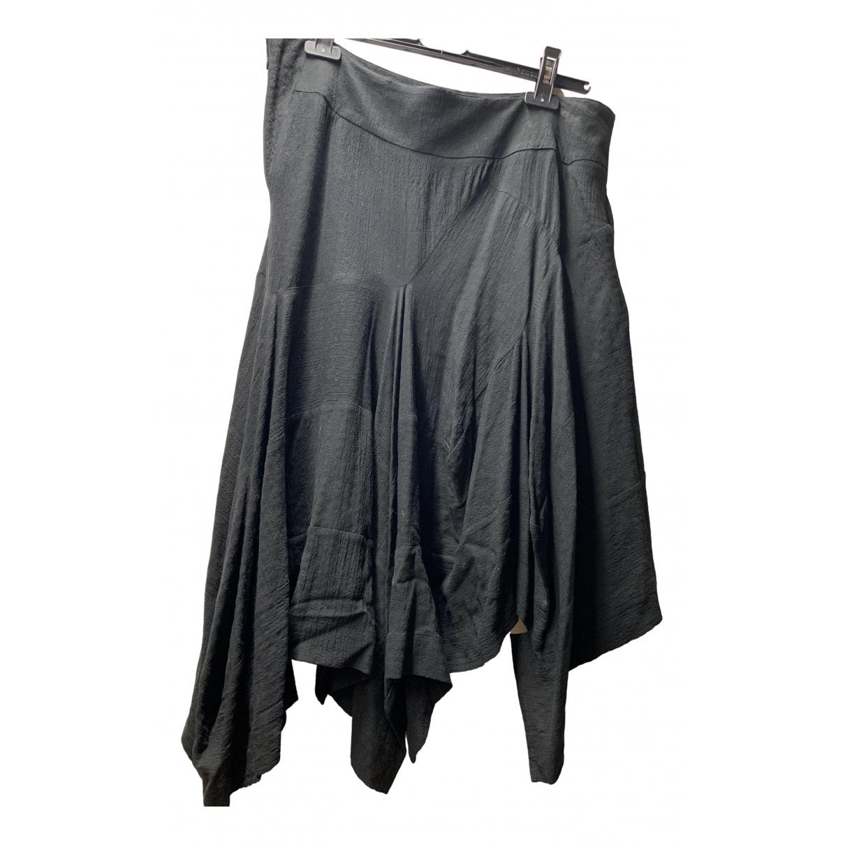 Bernhard Willhelm - Jupe   pour femme en laine - noir