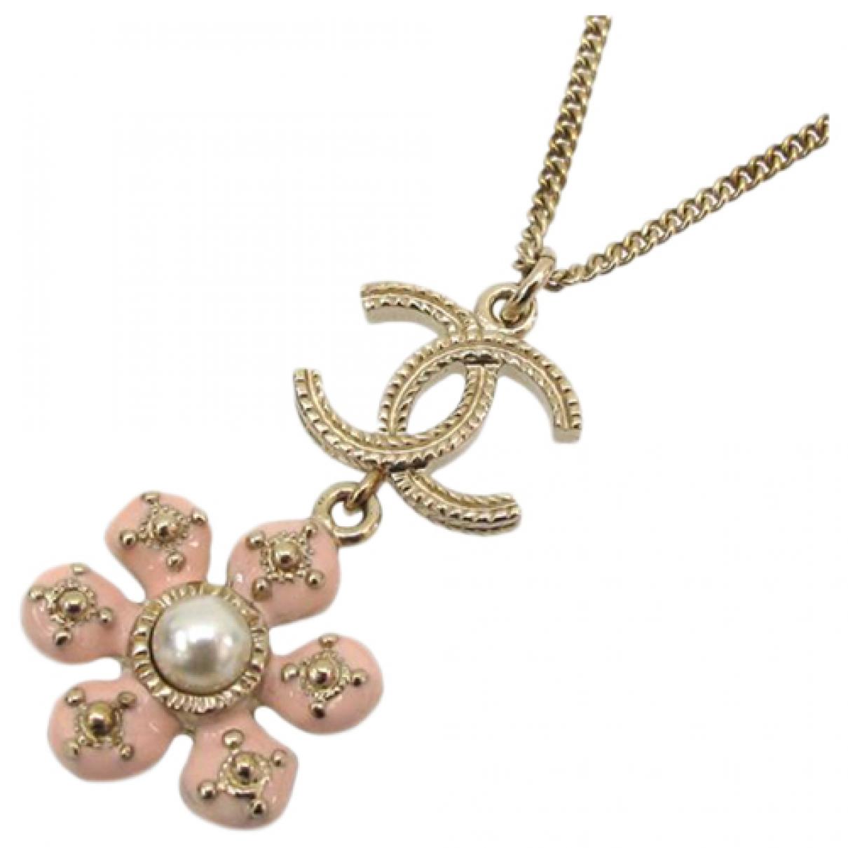 Chanel - Collier   pour femme en plaque or