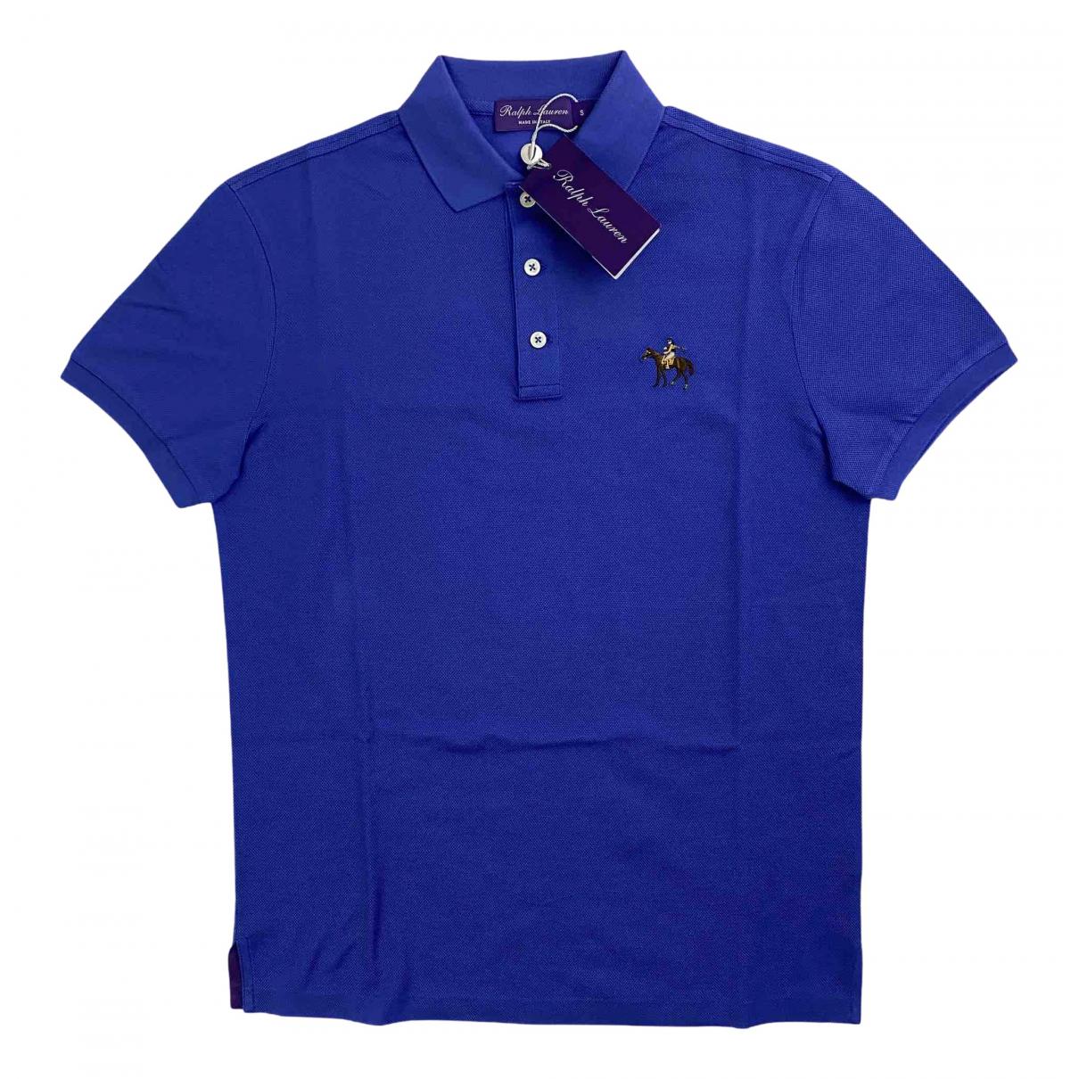 Ralph Lauren Purple Label N Blue Cotton Polo shirts for Men S International