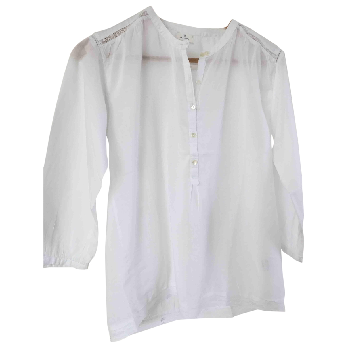 Hartford \N White Cotton  top for Women 1 0-5