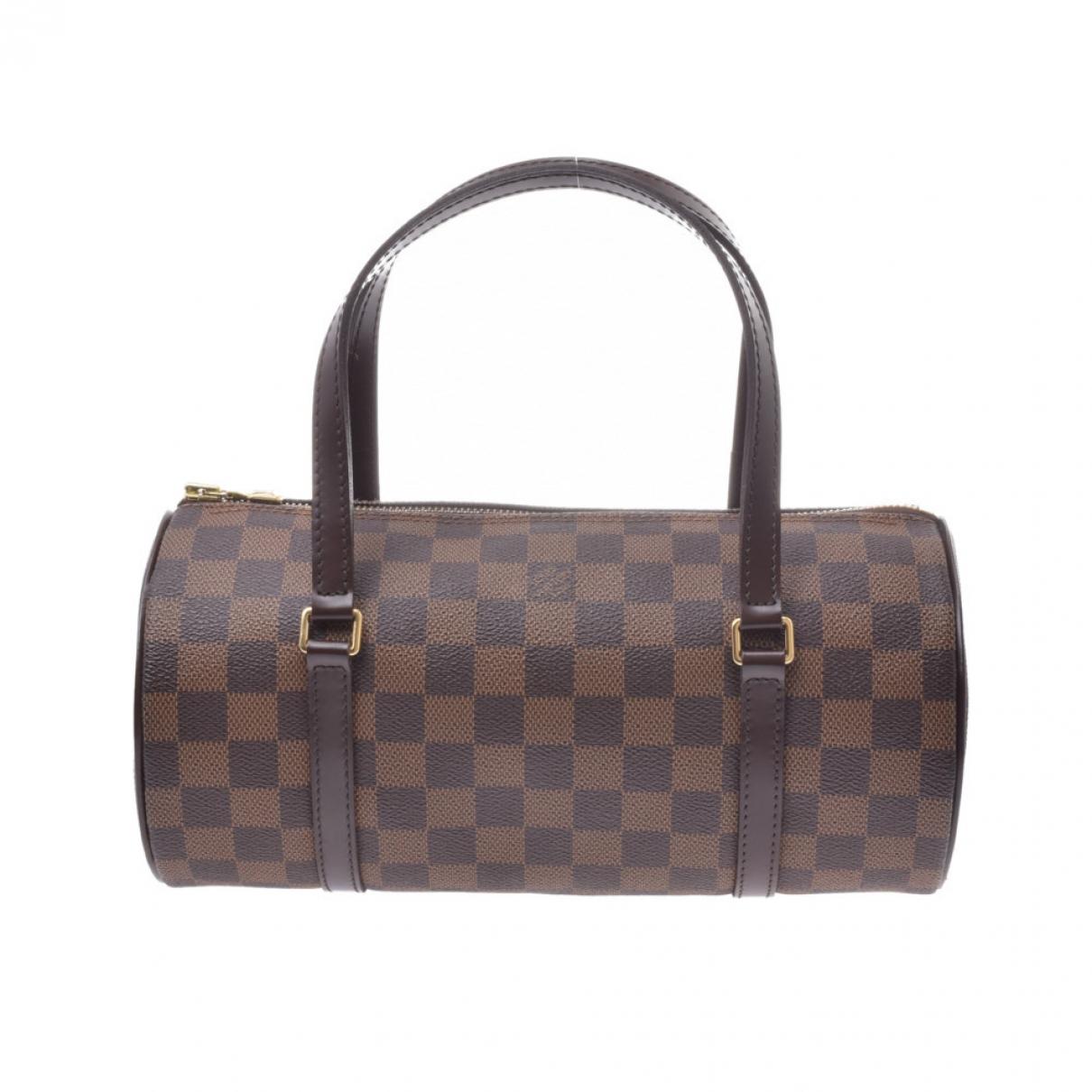 Louis Vuitton Papillon Brown Cloth handbag for Women \N