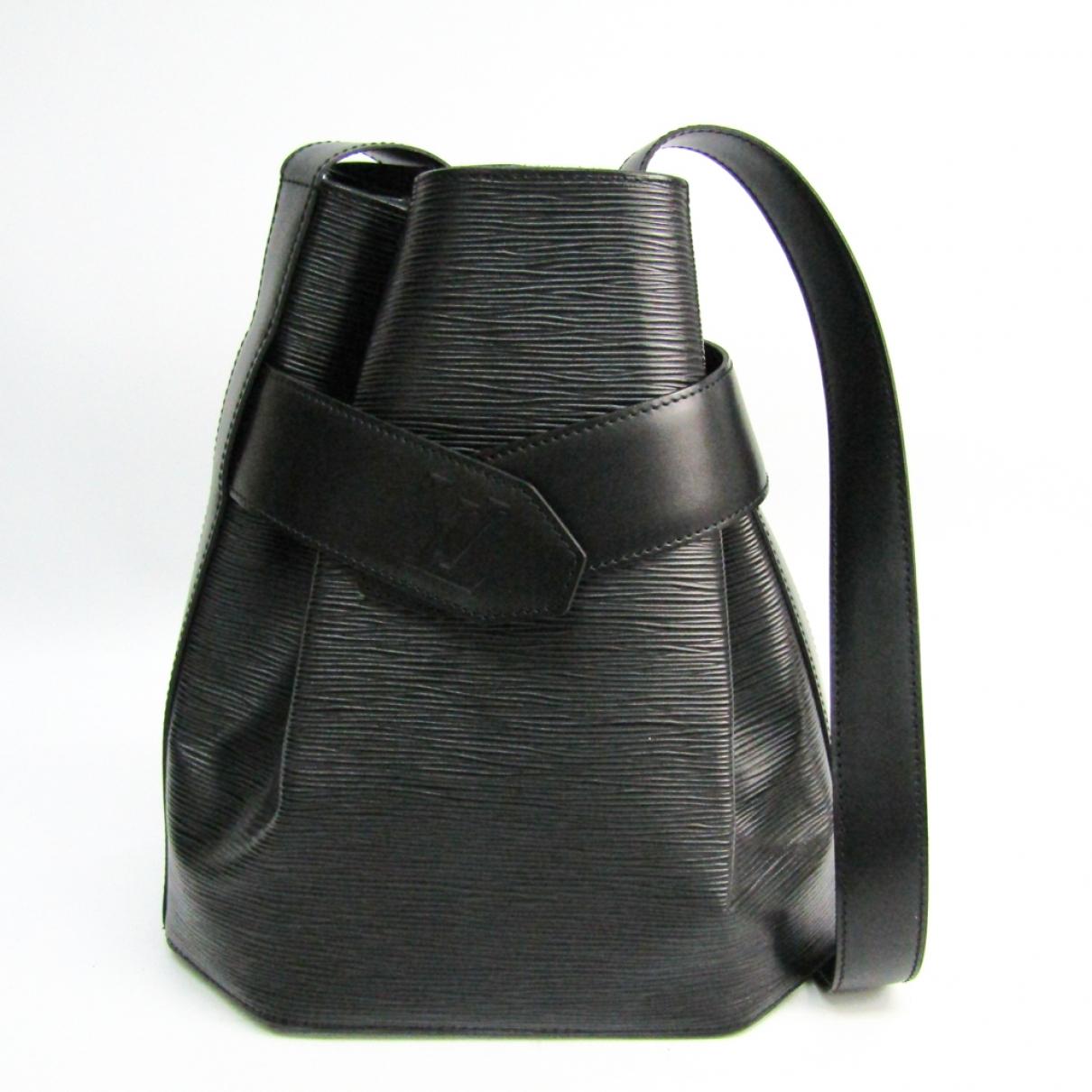 Louis Vuitton Sac d'épaule Black Leather handbag for Women \N
