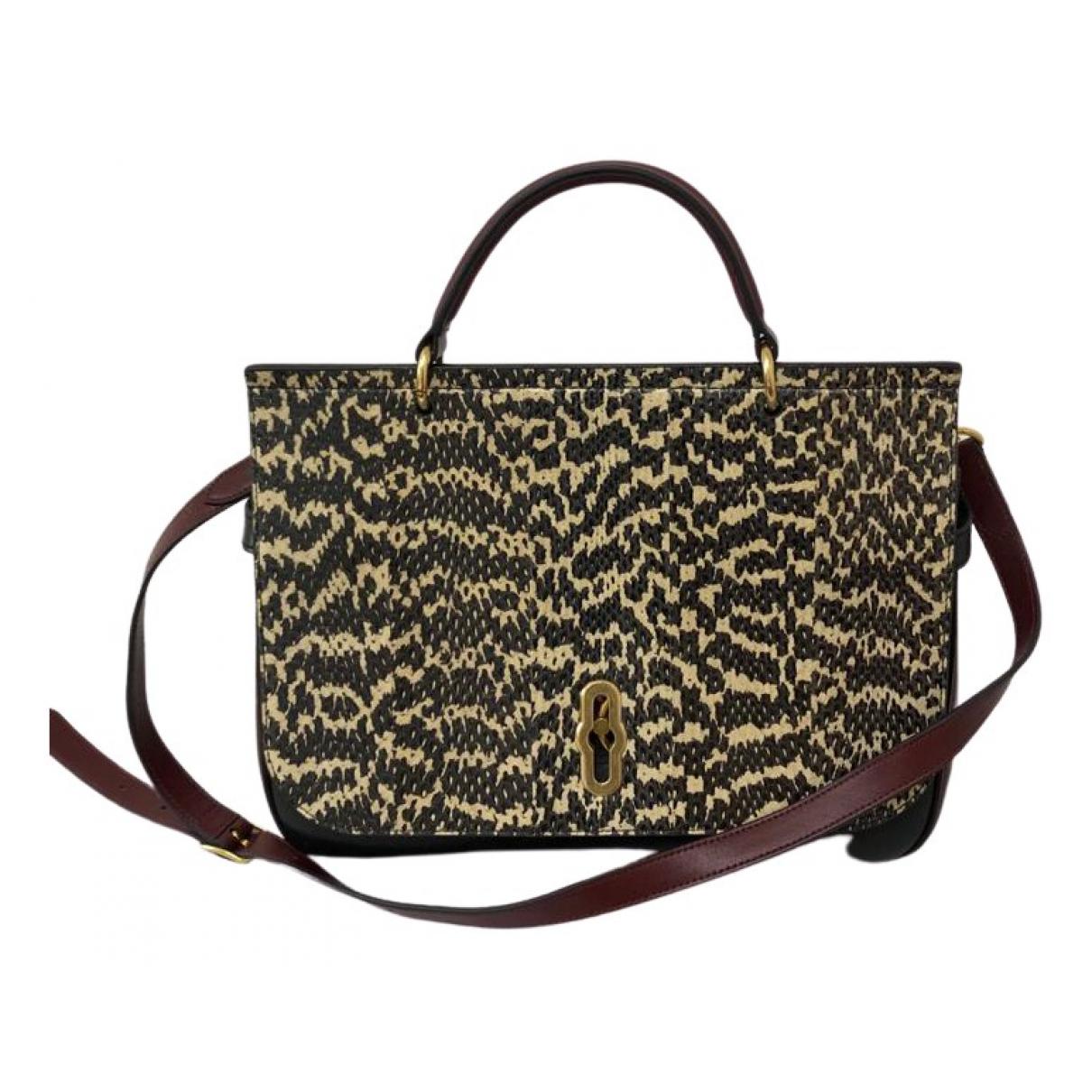 Mulberry Amberley Black Leather handbag for Women \N