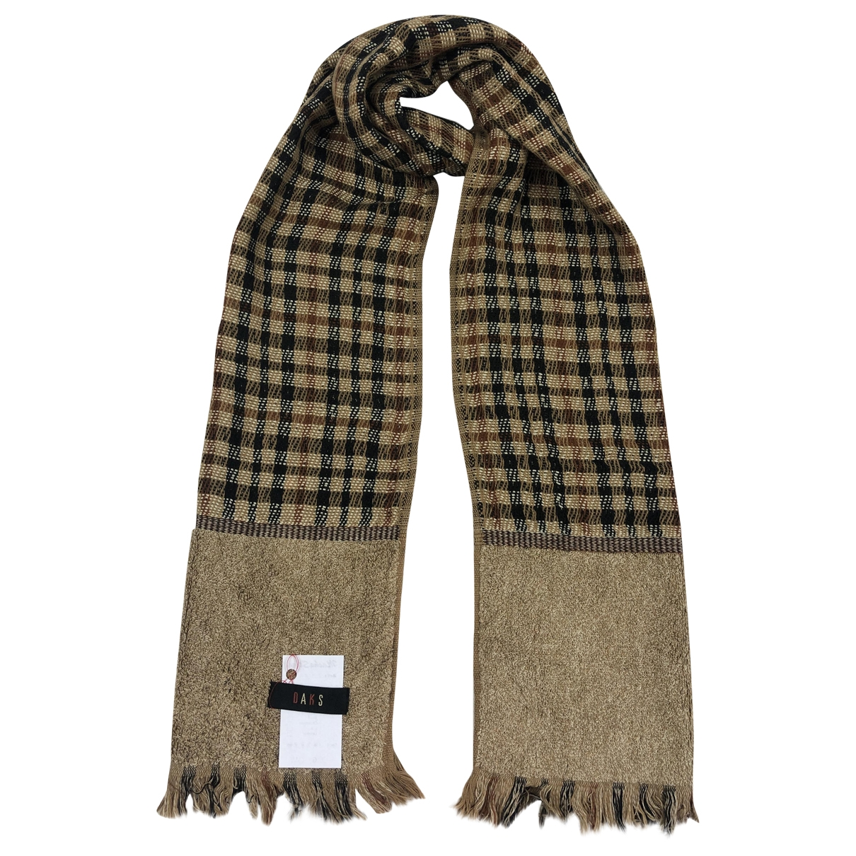Daks \N Brown scarf for Women \N