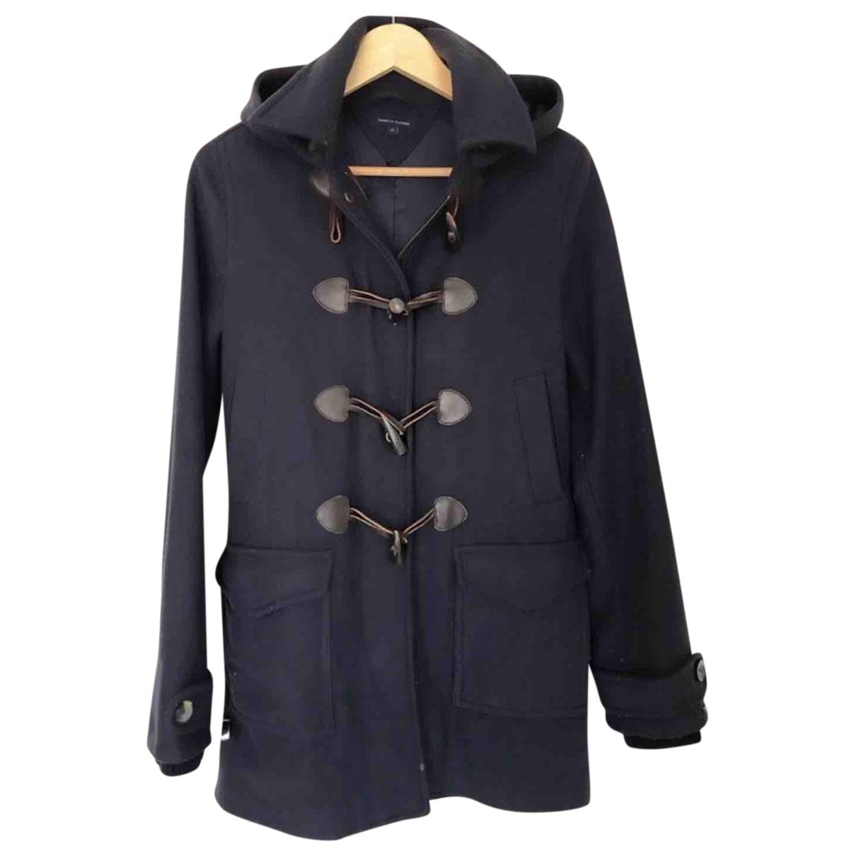 Tommy Hilfiger \N Navy Wool coat for Women S International