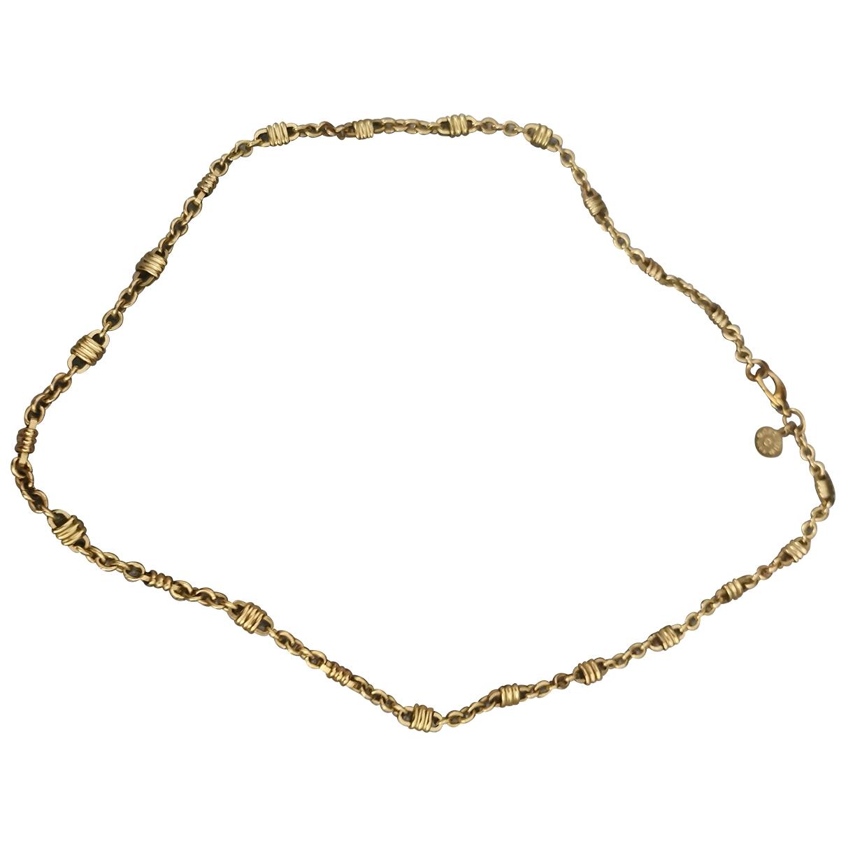 Carven \N Kette in  Gold Gelbgold