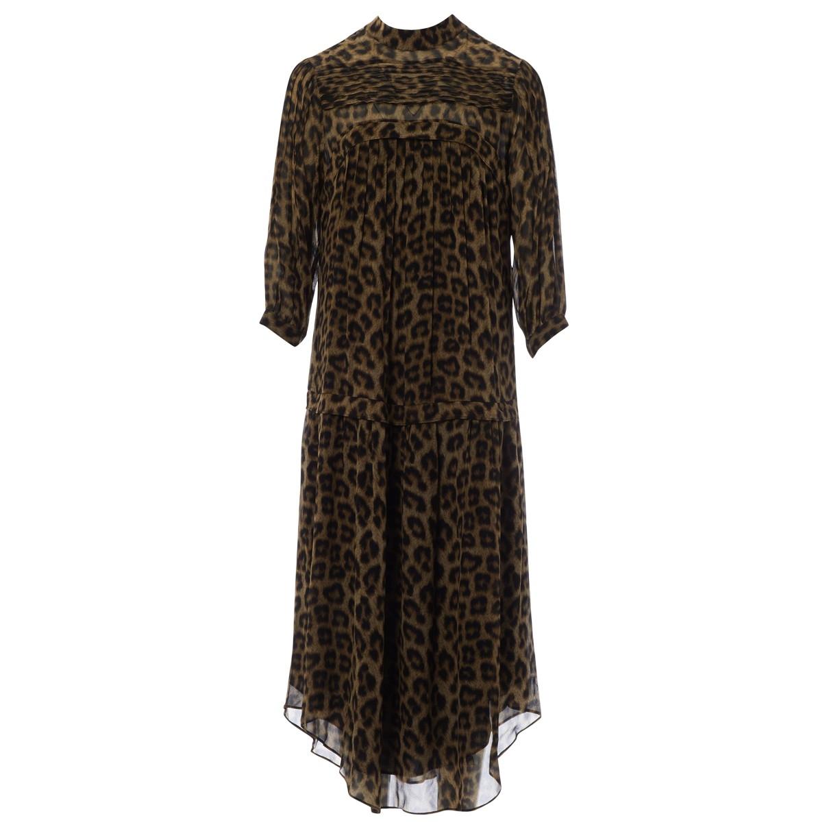 Ba&sh X Vestiaire Collective Fiona Brown dress for Women 0 0-5