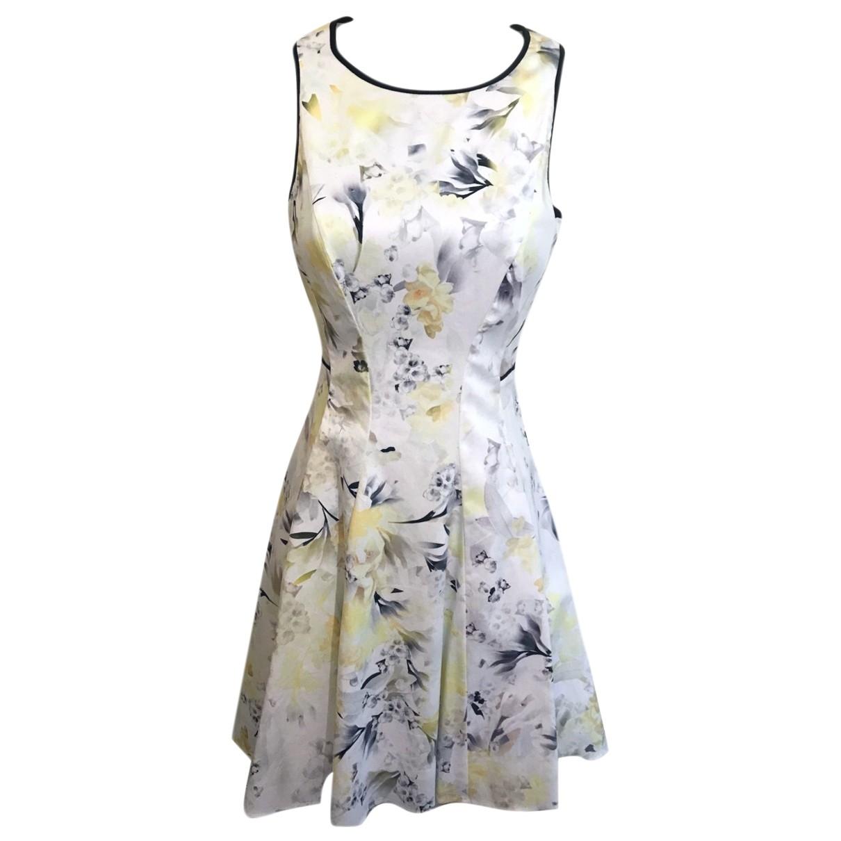 Coast \N White Cotton dress for Women 6 UK