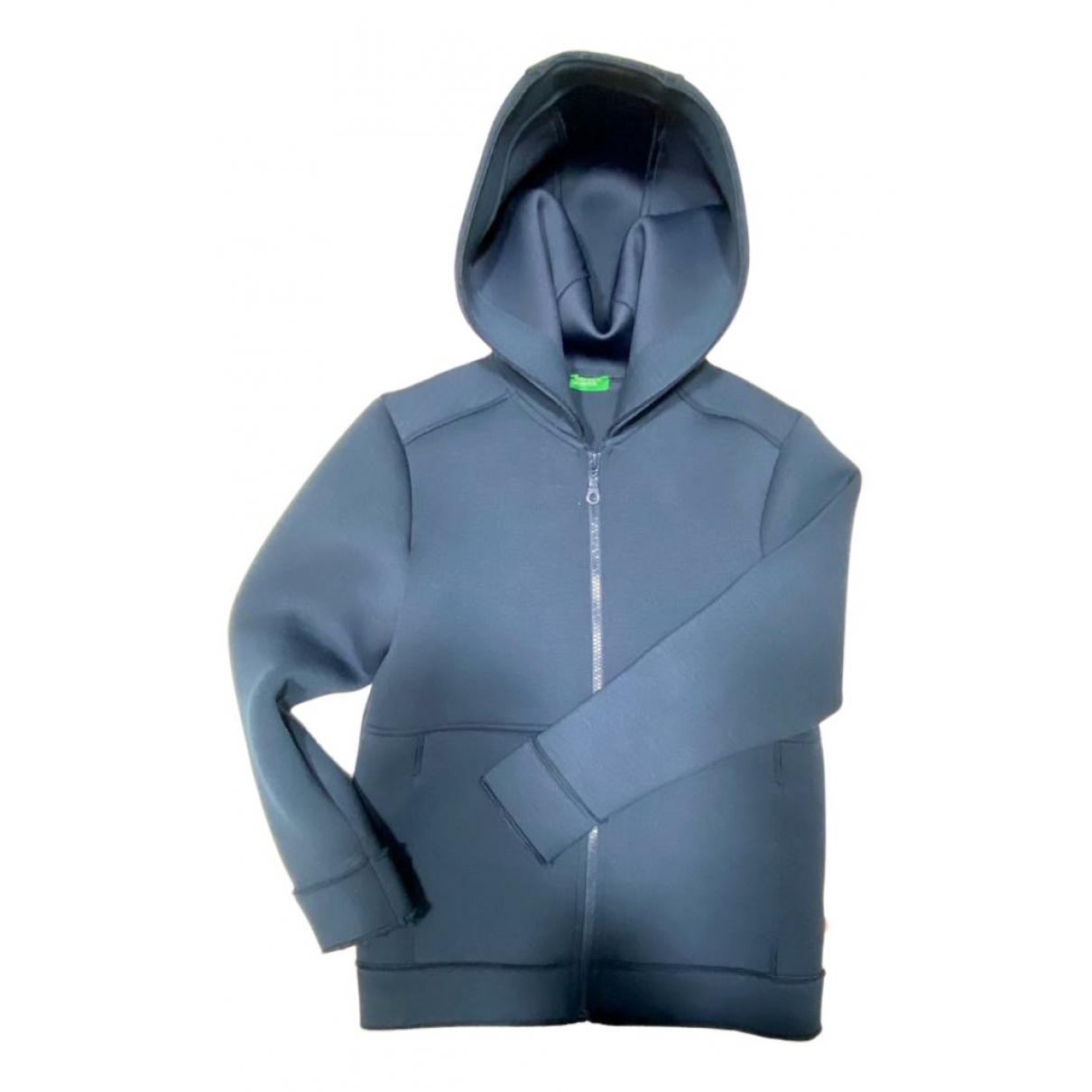 Benetton - Blousons.Manteaux   pour enfant - bleu