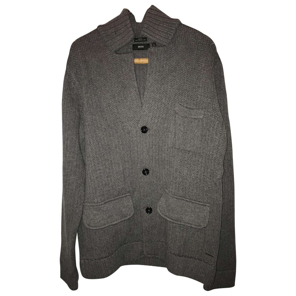 Boss \N Pullover.Westen.Sweatshirts  Grau