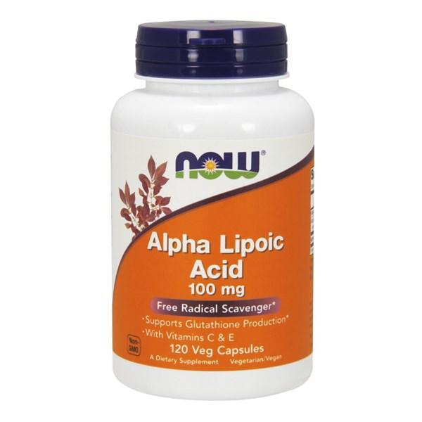 ALPHA LIPOIC ACID 120 Veg Caps by Now Foods