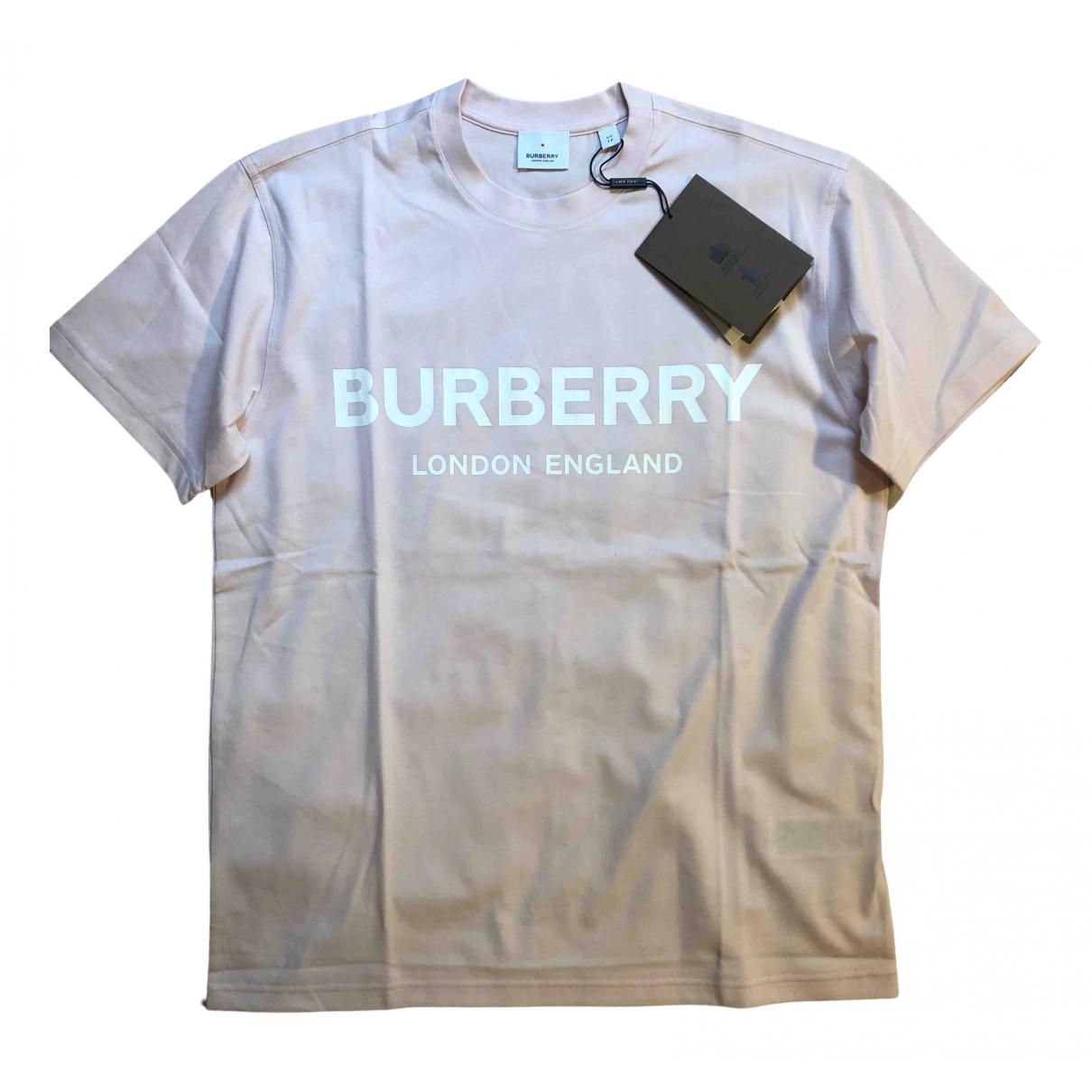 Burberry \N Top in  Rosa Baumwolle