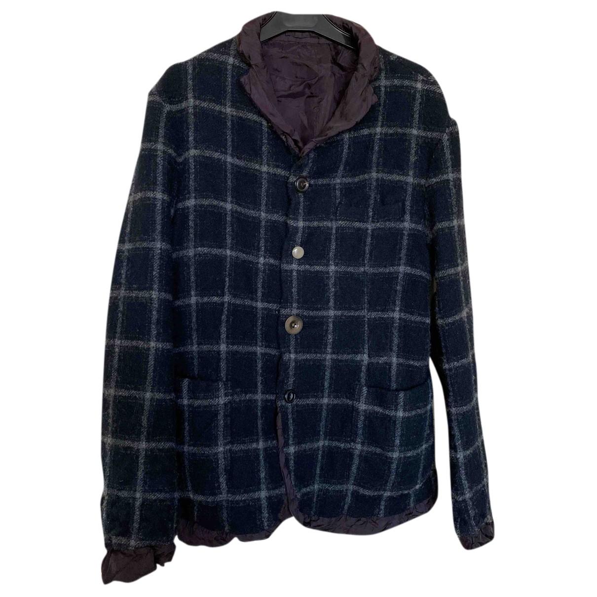 Kolor - Vestes.Blousons   pour homme en laine - anthracite
