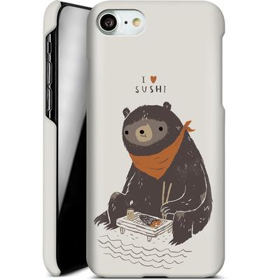 Apple iPhone 7 Smartphone Huelle - Sushi Bear von Louis Ros