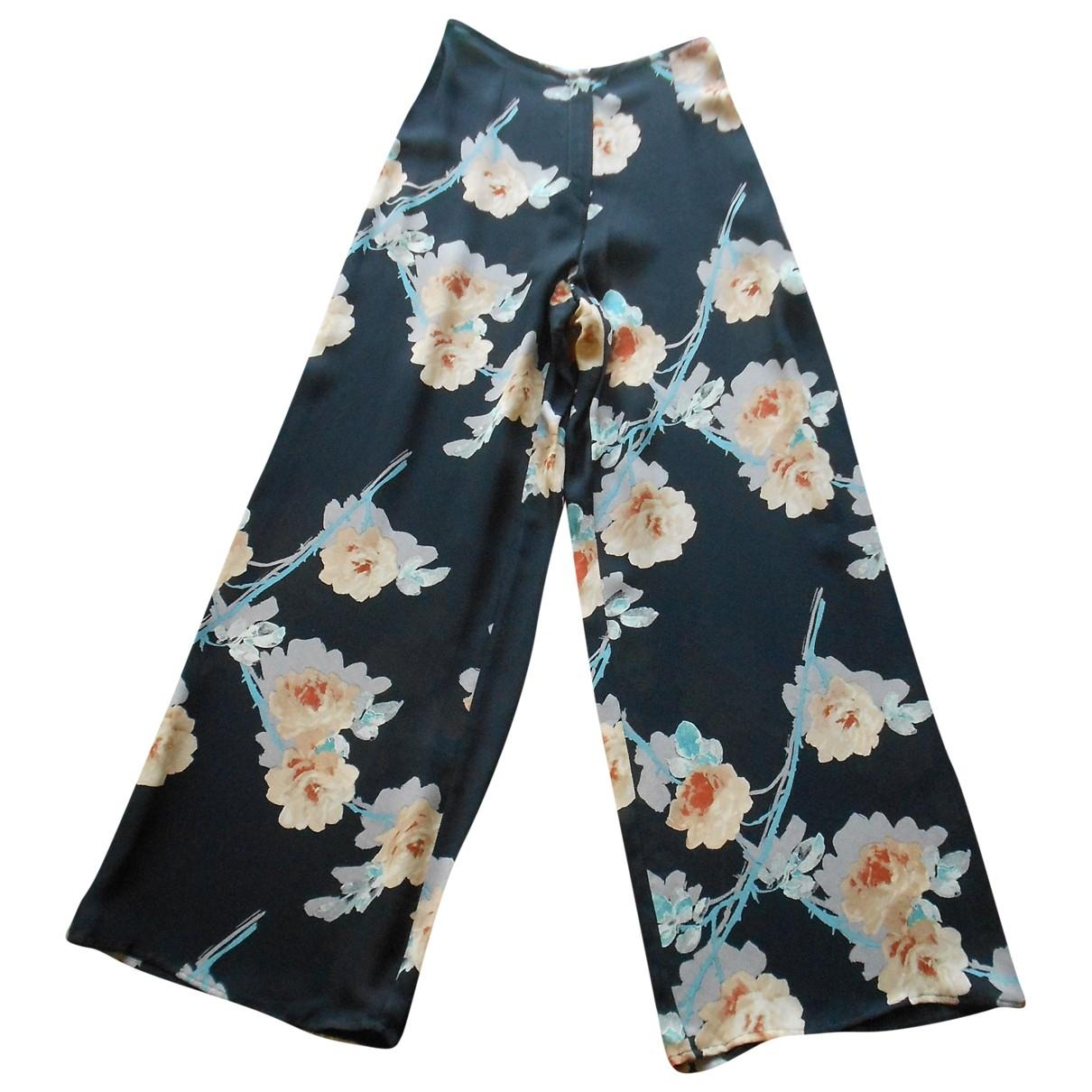 Sonia Rykiel \N Black Trousers for Women 38 FR