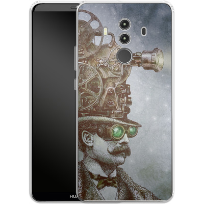 Huawei Mate 10 Pro Silikon Handyhuelle - The Projectionist von Eric Fan