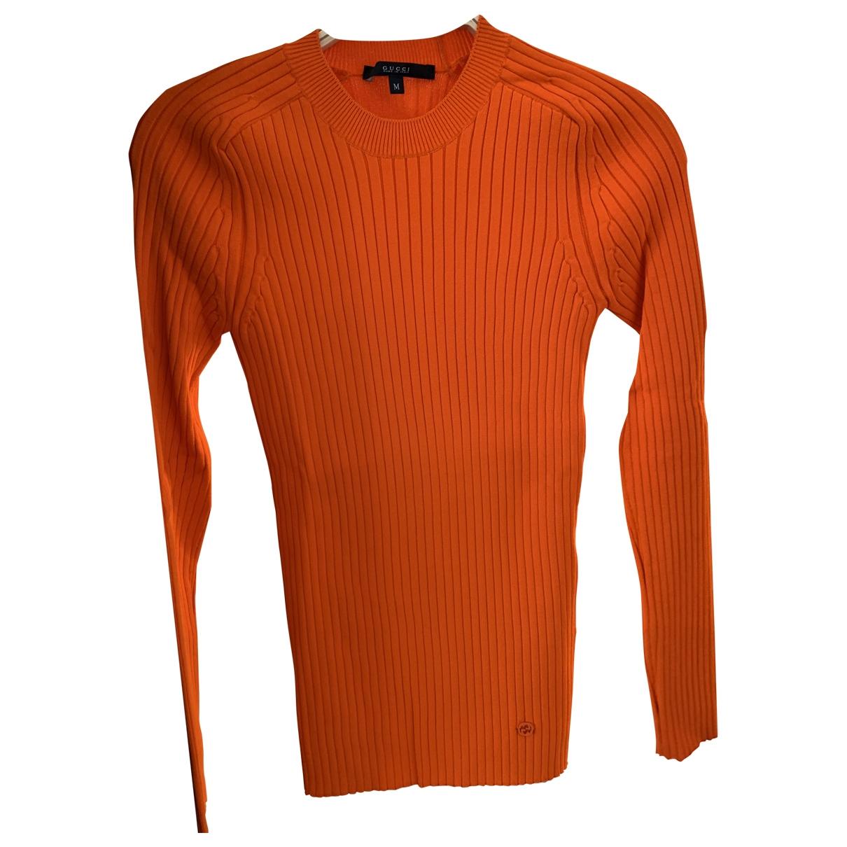 Gucci - Pull   pour femme - orange