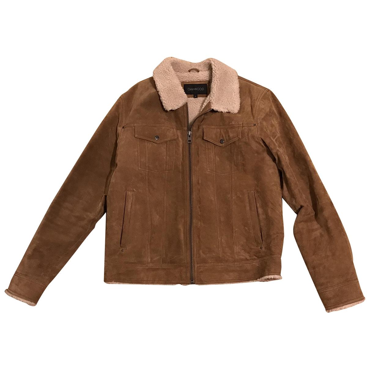 Oakwood \N Beige Leather jacket  for Men L International