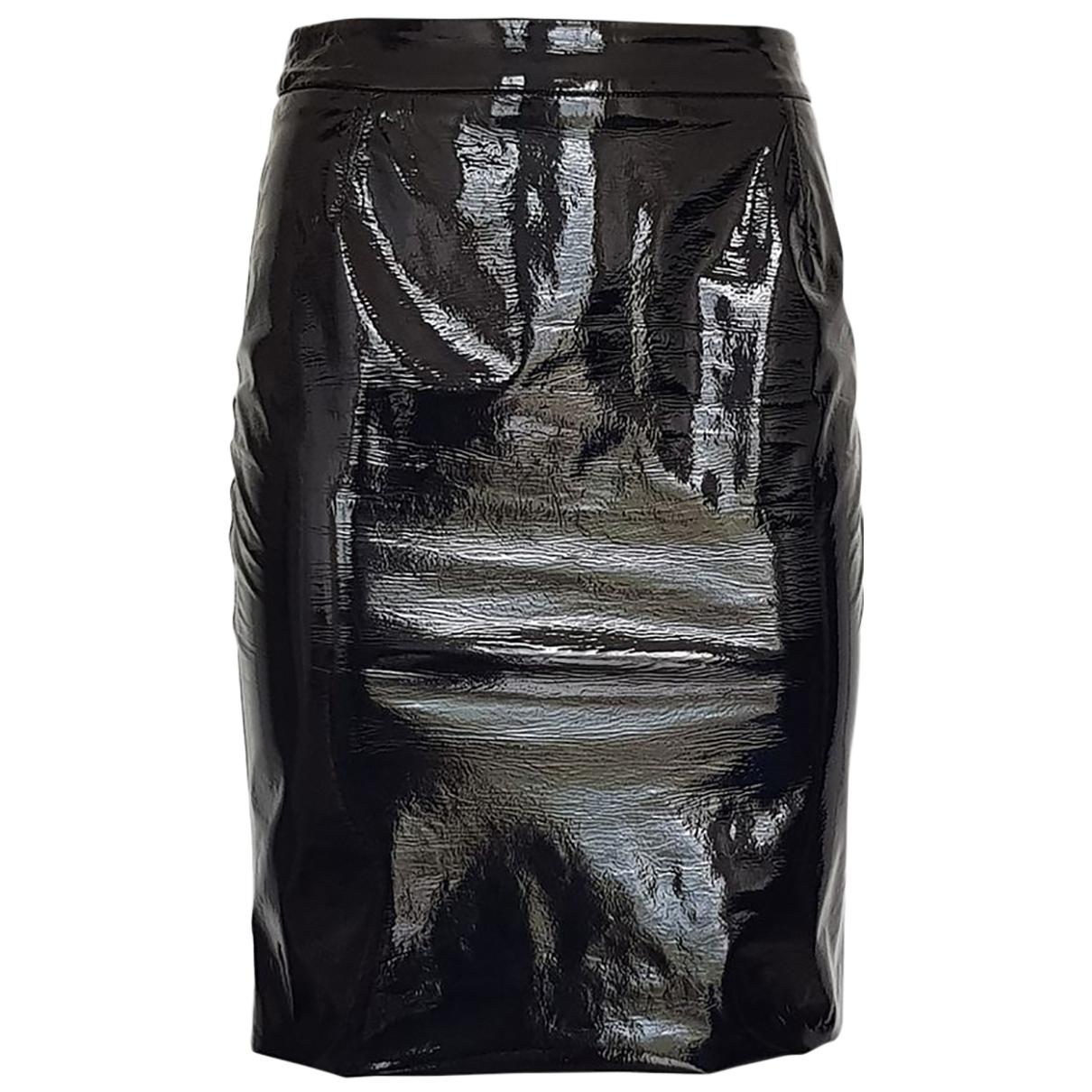 Dolce & Gabbana \N Rocke in  Schwarz Lackleder