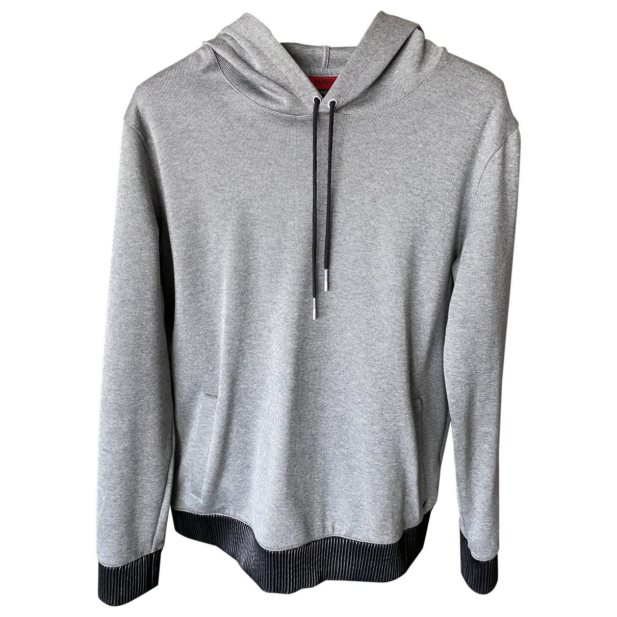 Hugo Boss \N Grey Cotton Knitwear & Sweatshirts for Men L International