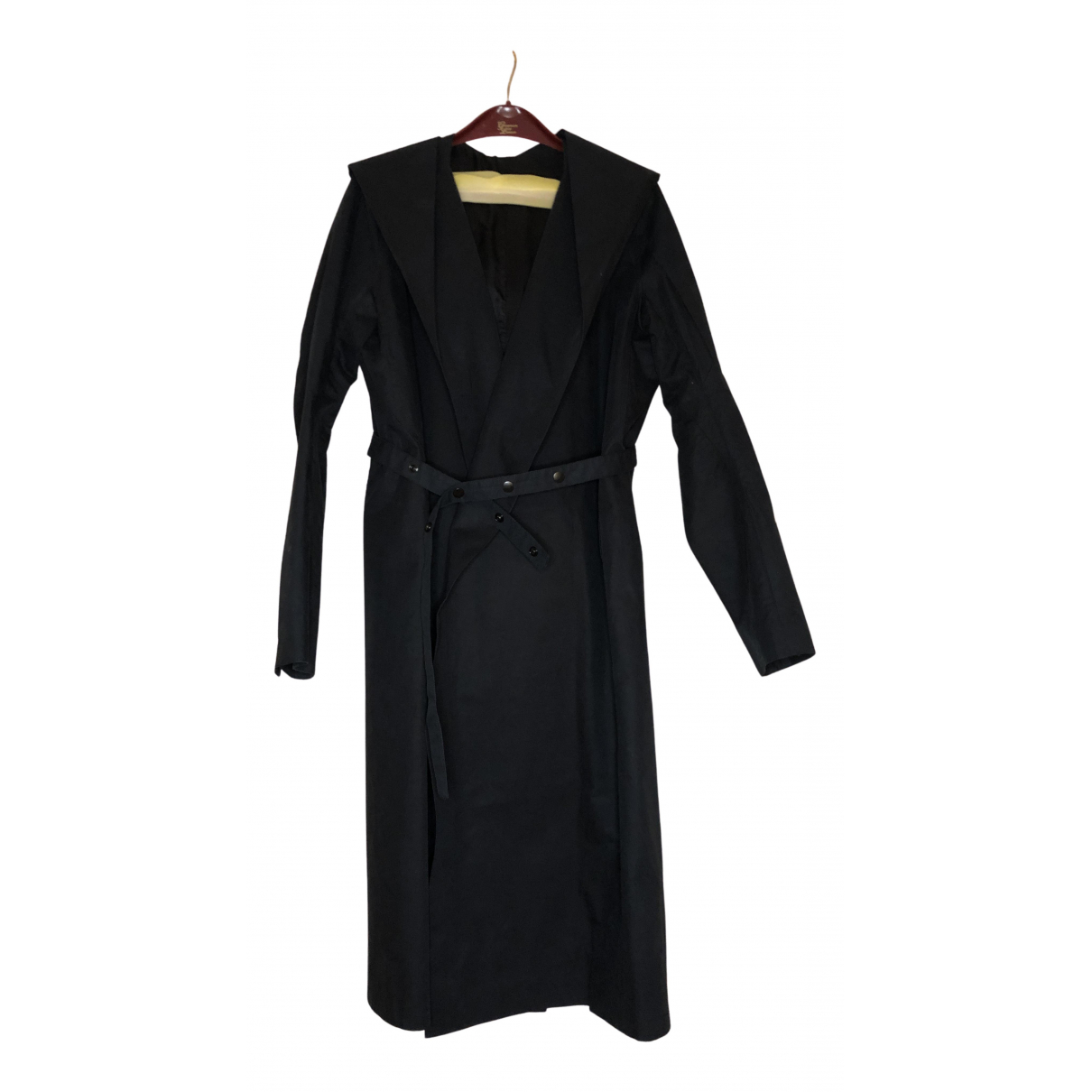 Rick Owens N Black Cotton coat  for Men L International