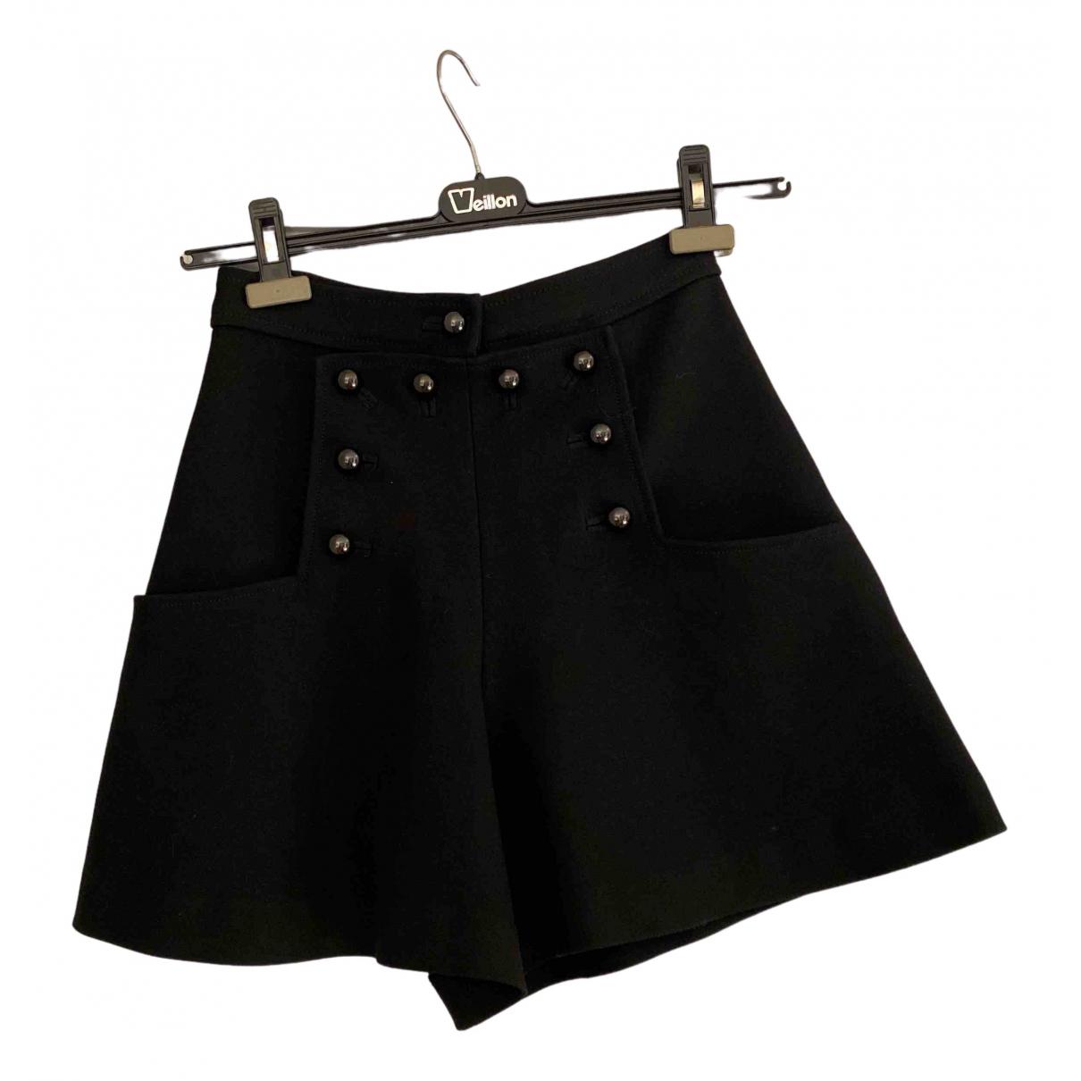 Isabel Marant \N Black Shorts for Women 38 FR