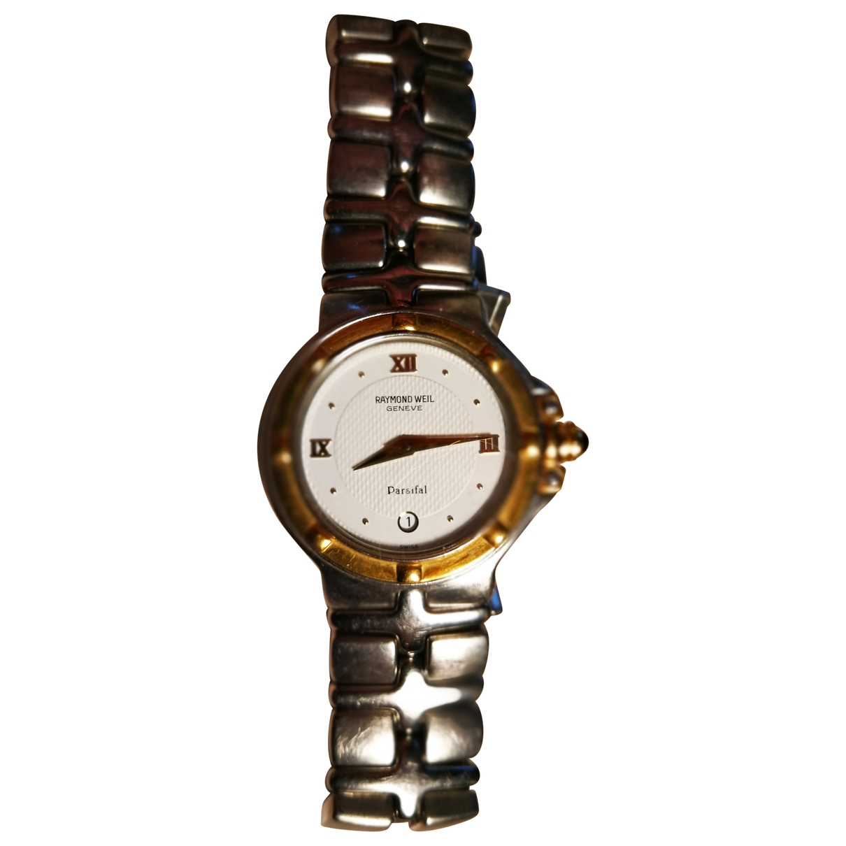 Raymond Weil \N Uhr in  Silber Gold und Stahl