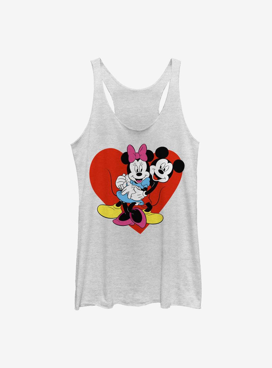 Disney Mickey Mouse Be Mine Womens Tank Top