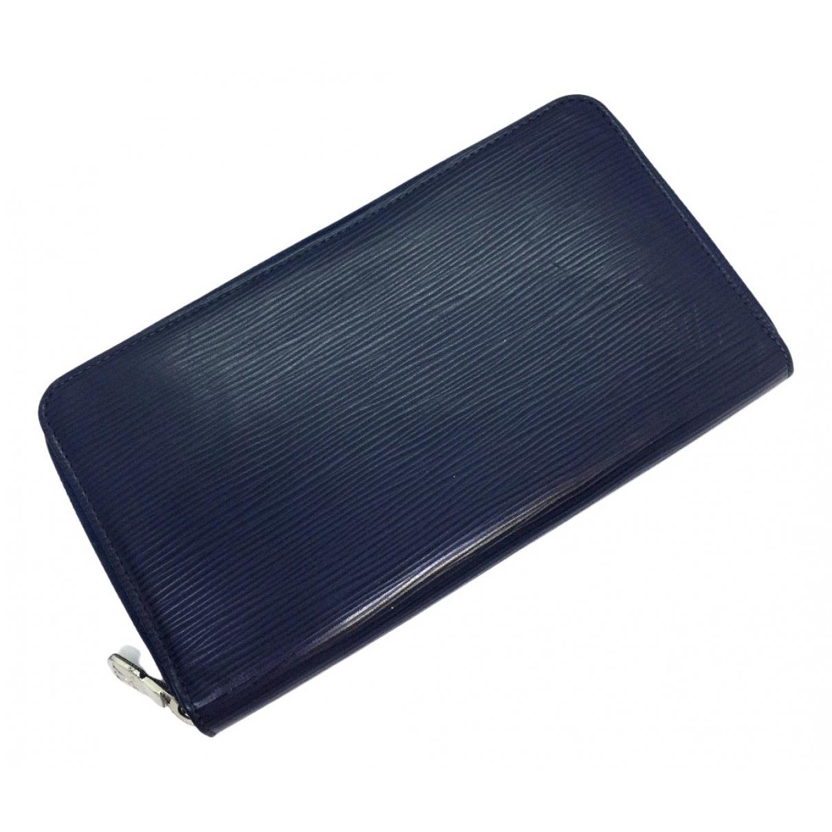 Louis Vuitton - Petite maroquinerie   pour homme en cuir - marine