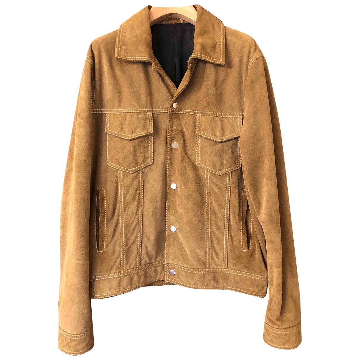 Ami \N Beige Suede jacket  for Men L International